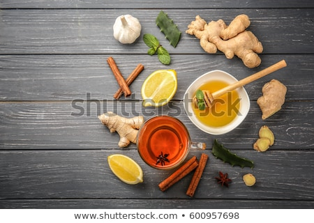 Natural medicine. Treatment for colds Natural remedies Stock photo © Illia