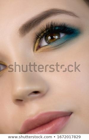 Szépség nő közelkép portré tökéletes bőr Stock fotó © artfotodima