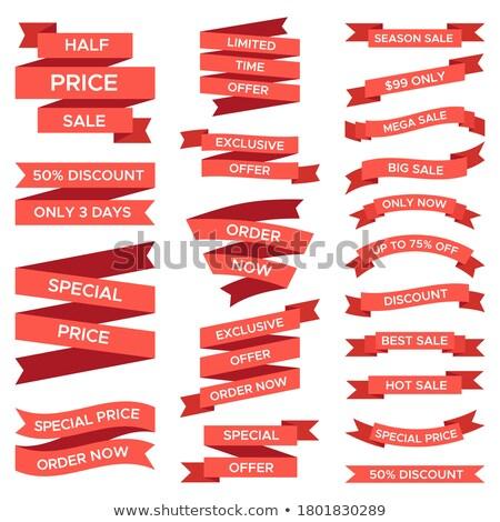 Exclusiv produse ca reducere web Imagine de stoc © robuart