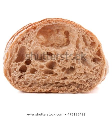 pão · escuro · mesa · de · madeira · padaria · imagem · café - foto stock © karandaev