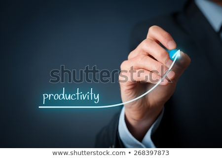 increased productivity business graph concept stock photo © ivelin