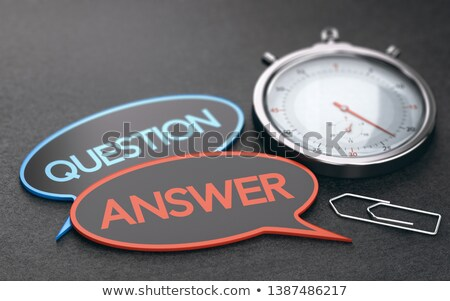 Wait Time Concept, Effective Customer Service. Stock photo © olivier_le_moal
