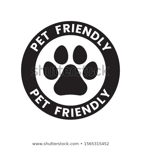 Pet friendly place concept vector illustration Stock photo © RAStudio