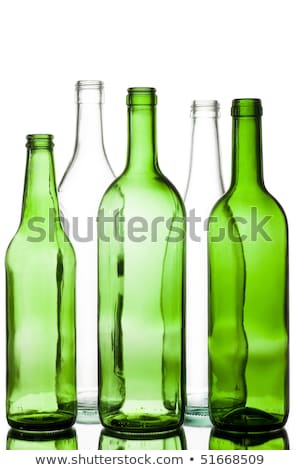 Empty Beer Bottle Color Range Stock photo © albund