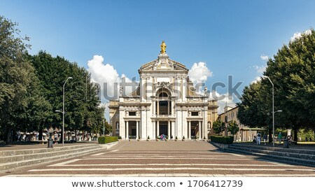 basilique · saint · anges · bleu · nuit · Skyline - photo stock © borisb17