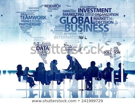 бизнес-команды · заседание · обсуждение · конференции · слово - Сток-фото © Freedomz