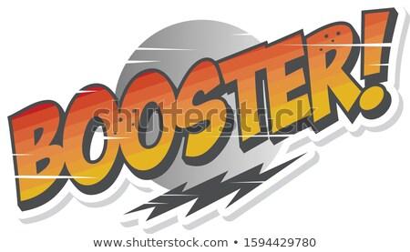 Móvel mão telefone intensificador sinalizar conexão Foto stock © vector1st