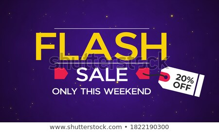 Super Sale 20 Percent Off, Low Price Promo Banner Stock photo © robuart
