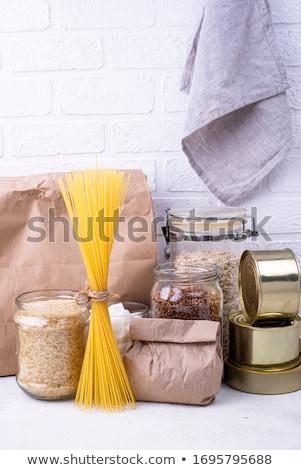 Overleving producten nood home glas Stockfoto © furmanphoto