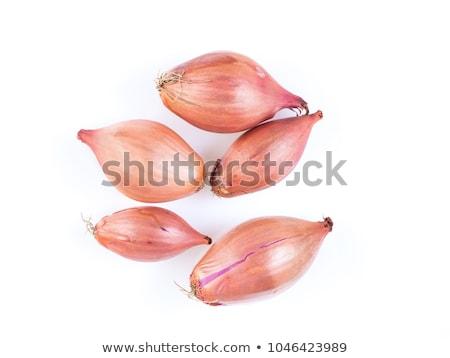 descascado · tigela · comida · vermelho · vegetal - foto stock © trgowanlock