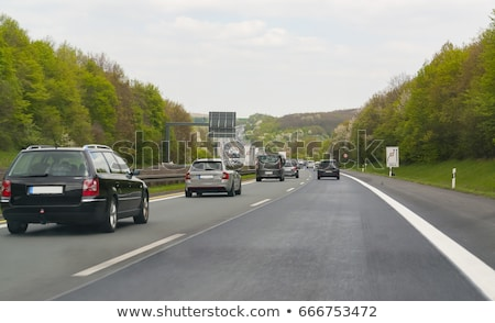 karayolu · manzara · güney · Almanya · yol · yaz - stok fotoğraf © prill