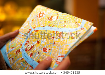 Man holding a try square Stock photo © photography33