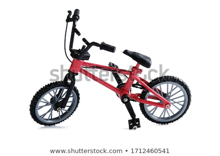 kids bike isolated Stock photo © ozaiachin