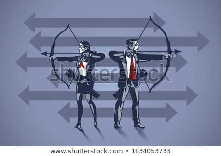 Dynamic business duo Stock photo © photography33