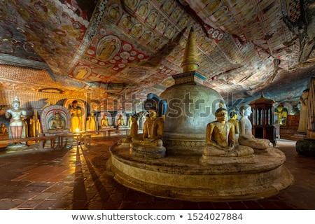 Budismo cueva Tailandia cara naturaleza luz Foto stock © Witthaya