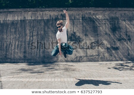 male urban dancer performing stock photo © feedough