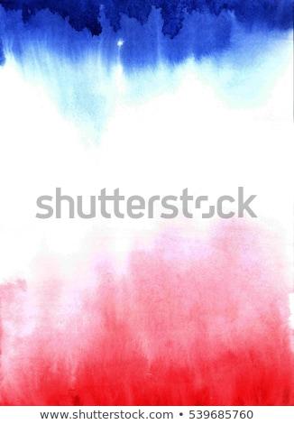 Piros fehér szép lenyűgöző papír absztrakt Stock fotó © cosma