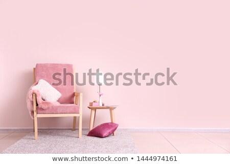 prinses · slaapkamer · interieur · magie · licht · achtergrond - stockfoto © kgaspar