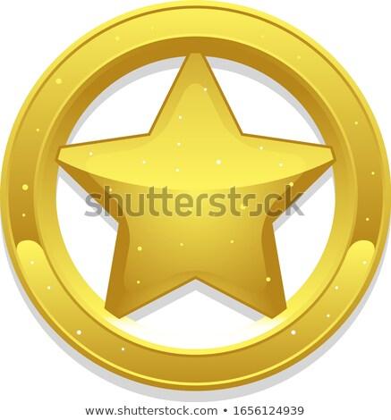 Insigne star kan eigen Stockfoto © oblachko