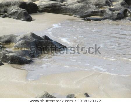 Eau spectaculaire modèles plage de sable plage nature Photo stock © meinzahn