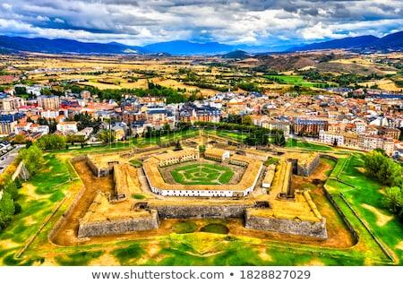 citadel Jaca Castle fortress military fort Huesca Stock photo © lunamarina