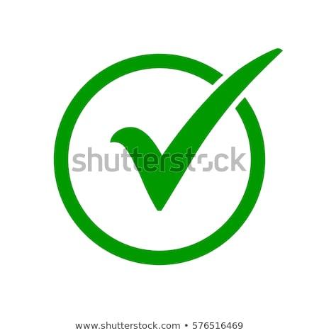 vetor · verificar · balão · de · fala · abstrato · assinar - foto stock © timurock