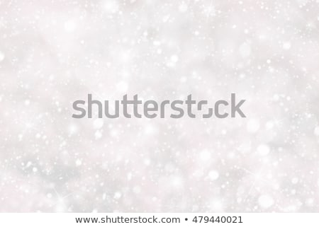 christmas background with snwoflakes and bokeh pink color stock photo © nelosa