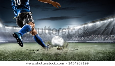 футбола изолированный белый Футбол спорт фон Сток-фото © All32
