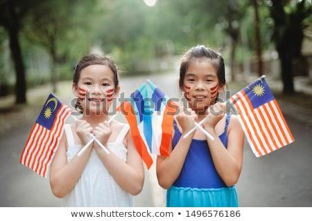 Feliz crianças diferente países ilustração crianças Foto stock © bluering
