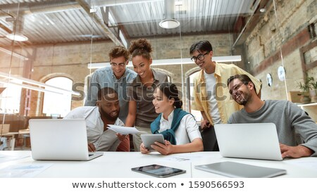 casual group meeting Stock photo © IS2