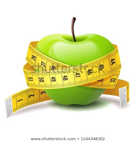 Realistisch groene appel fitness dieet Stockfoto © MarySan