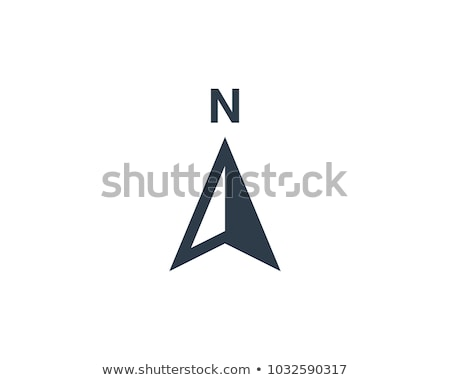 compass icon vector symbol element logo Stock photo © blaskorizov