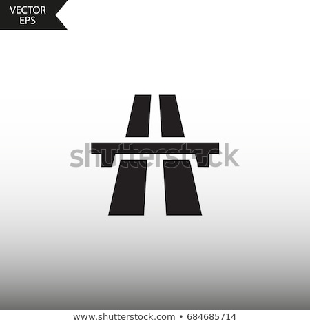 highway vector icon illustration logo sign stock photo © blaskorizov