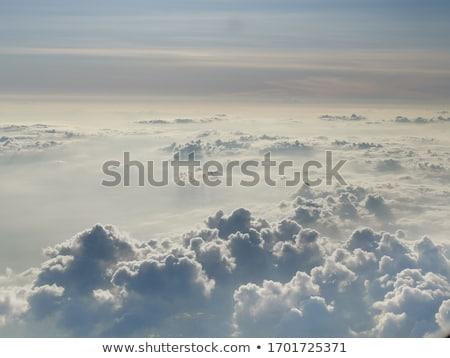 Uçuş bulutlar görüntü gökyüzü doğa manzara Stok fotoğraf © magann