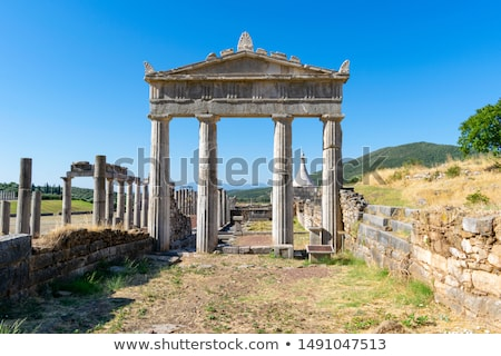 Ancient Messene, Greece Stock photo © borisb17