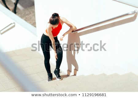 Runner Suffering From Pain In Calf Muscle Stock photo © AndreyPopov