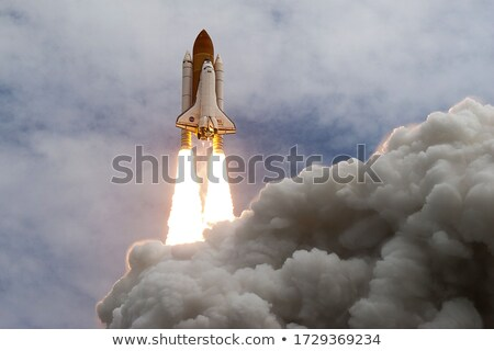 space shuttle taking off on a mission elements of this image furnished by nasa stock photo © nasa_images