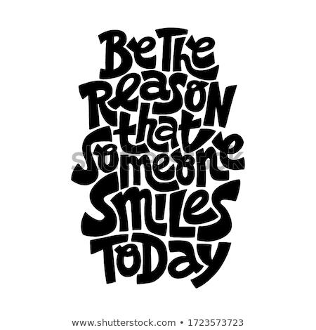 Motivacional citar vetor cor pare Foto stock © barsrsind