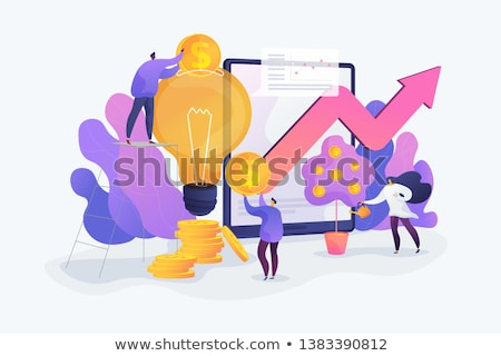 Crowdfunding abstract concept vector illustration. Stock photo © RAStudio