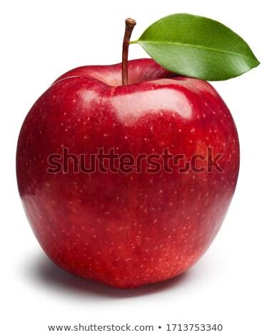 孤立した 新鮮な リンゴ 白 食品 フルーツ ストックフォト © Ansonstock
