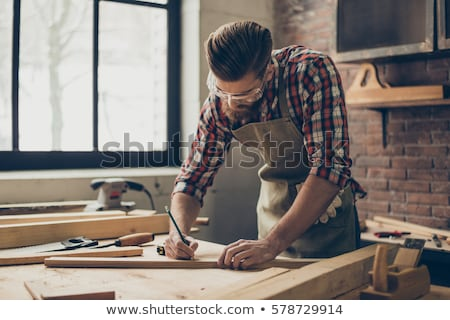 A carpenter and his foreman. Stock photo © photography33