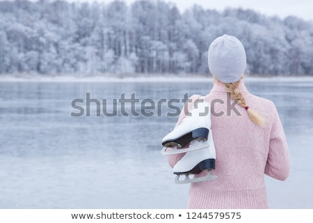 ice over river Stock photo © gewoldi