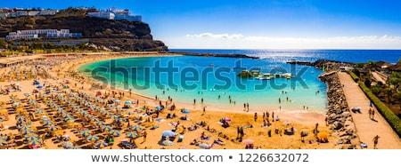 Panpramic view on gran Canaria Stock photo © Hofmeester