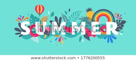 Summer scene Stock photo © stevemc