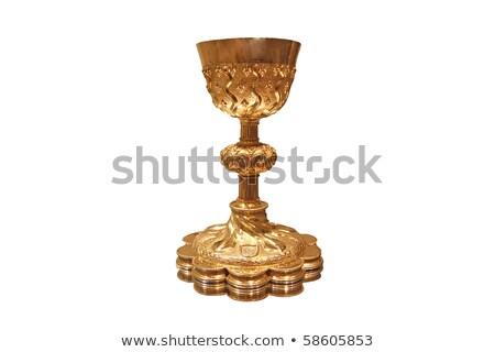 Golden cup grail or goblet Stock photo © Krisdog