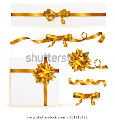 kopercie · złoty · łuk · twarz · odizolowany · biały - zdjęcia stock © adamson