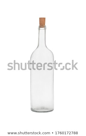 clear glass carafe Stock photo © prill