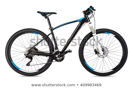 mountain bike isolated stock photo © ozaiachin