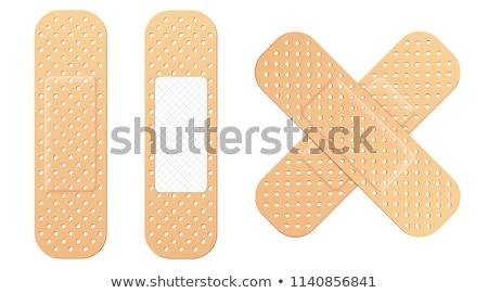 adhesive plaster Stock photo © prill