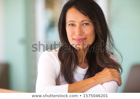 Portrait of Sweet Southern Lady stock photo © lisafx